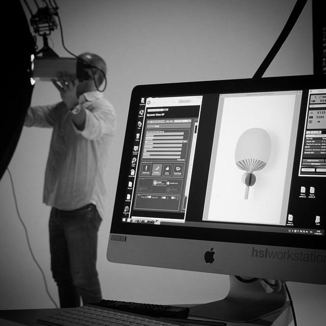 Una schermata della consolle HSL per l'acquisizione industrializzata delle informazioni di prodotto fotografate