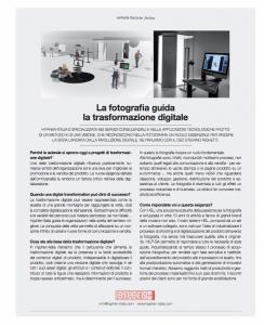 La fotografia guida la Trasformazione Digitale - Intervista a Stefano Righetti