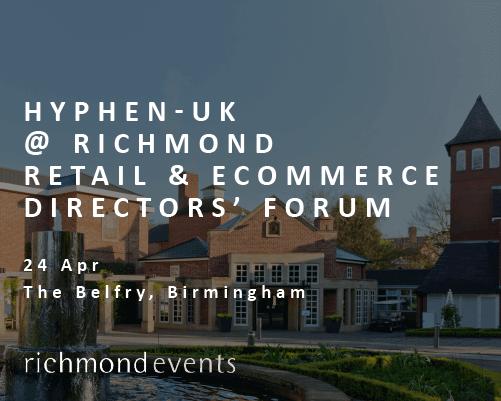 La partecipazione di Hyphen-UK al Richmond Retail & E-Commerce Forum