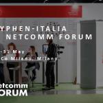Lo stand di Hyphen-Italia al Necomm Forum