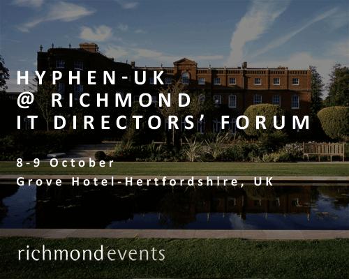 Groove Hotel - Hyphen-UK at Richmond IT Directors' Forum