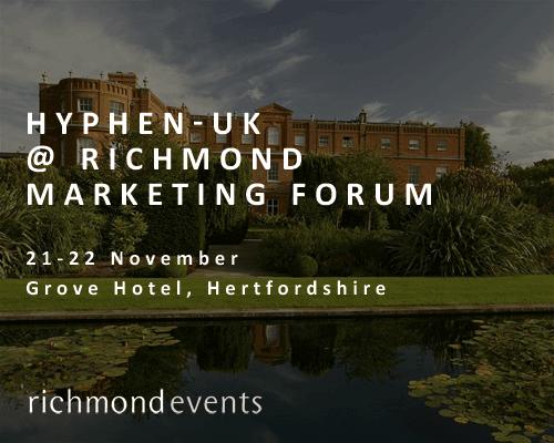 Hyphen-UK al Richmond Marketing Forum