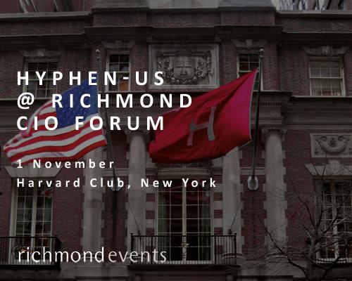 Hyphen-US al Richmond CIO Forum